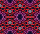 colorful moroccan ornament in vector