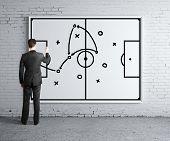 Man Drawing Tactic