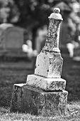 Leaning Headstone