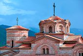 image of macedonia  - Saint Panteleimon Monastery in Ohrid - JPG