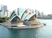 The Sydney Opera House From Cruise Ship