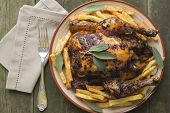 Roasted Chiken With Sage