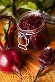 Beetroot and balsamic chutney