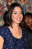 LOS ANGELES - OCT 16:  Aubrey Plaza at the