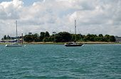 Burrow Island, Portsmouth Harbour