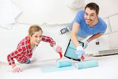 stock photo of wall painting  - repair - JPG