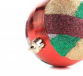 Christmas decoration ball.