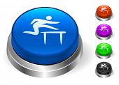 Hurdle Icons on Round Button Collection