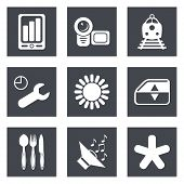 Icons for Web Design set 50