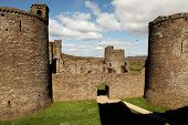 Kidwelly Castle, Camarthenshire, Wales 4
