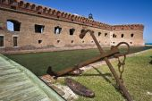 Anchor By Fort Jefferson