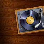 Record player retro