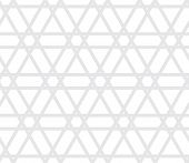 Vector Seamless Halftone Gray Pattern - Arabic Simple Wallpaper Design. Geometric Background