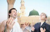People On Holy Islamic Duty In Madina, Saudi Arabia
