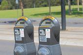 Parking meter Melbourne