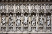 Westminster Abbey Facade Statues