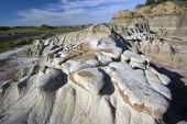 Badlands Formations In Theodore Roosevelt National Park