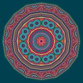 Circle abstract tribal ethnic background