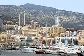 Monaco - Cityscape And Harbor