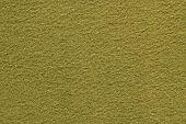 Yellow Gray Green Texture Of Fleecy Fabric