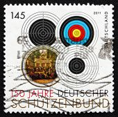 Postage Stamp Germany 2011 Targets