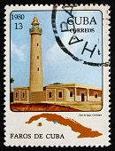 Postage Stamp Cuba 1980 Jagua, Cienfuegos, Lighthouse