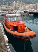 Monaco - Police Motorboat