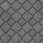 Concrete Paving Slabs. Seamless Tileable Texture.