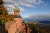 Castle Of Haut-koenigsbourg, Alsace, France