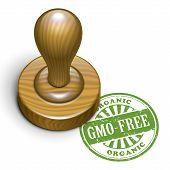 Gmo-free Grunge Rubber Stamp