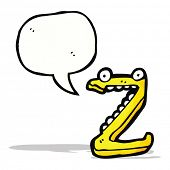 cartoon letter z