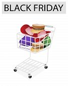 Hats And Helmet In Black Friday Shopping Cart