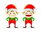 Twin Christmas Elf