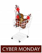 Musical Instrument Strings In Cyber Monday Promotion