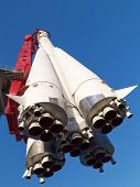 Historical Russian Space Rocket East