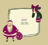Vintage Metal Sign - Merry Christmas