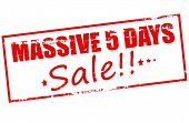 Massive Five Days Sale