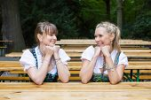 Two Woman In Dirndl
