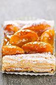 Apricot Fruit Strudel