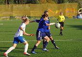 Piroghnyuk Elena (5) In Action  With Ball