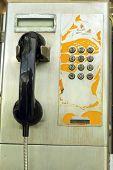 Old Vintage Phone Booth