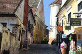 Empty street in Szentendre