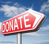 stock photo of generous  - donate and give charity be generous and give donation and support - JPG