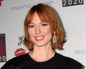 LOS ANGELES - OCT 6:  Alicia Witt at the Les Girls 14 at Avalon on October 6, 2014 in Los Angeles, CA