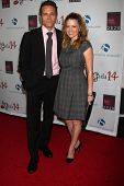 LOS ANGELES - OCT 6:  Seamus Dever, Juliana Dever at the Les Girls 14 at Avalon on October 6, 2014 in Los Angeles, CA