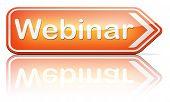 webinar online conference internet web meeting or workshop live video chat