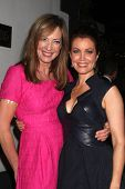LOS ANGELES - OCT 6:  Allison Janney, Bellamy Young at the Les Girls 14 at Avalon on October 6, 2014