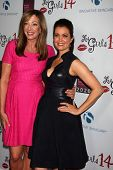 LOS ANGELES - OCT 6:  Allison Janney, Bellamy Young at the Les Girls 14 at Avalon on October 6, 2014 in Los Angeles, CA