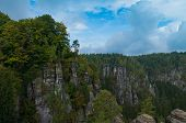 Saxony Switzerland view, Germany.