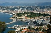 City Of Nice - Panoramic View Of District Villefranche-sur-mer